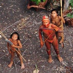 Amazing Video of Uncontacted Tribe