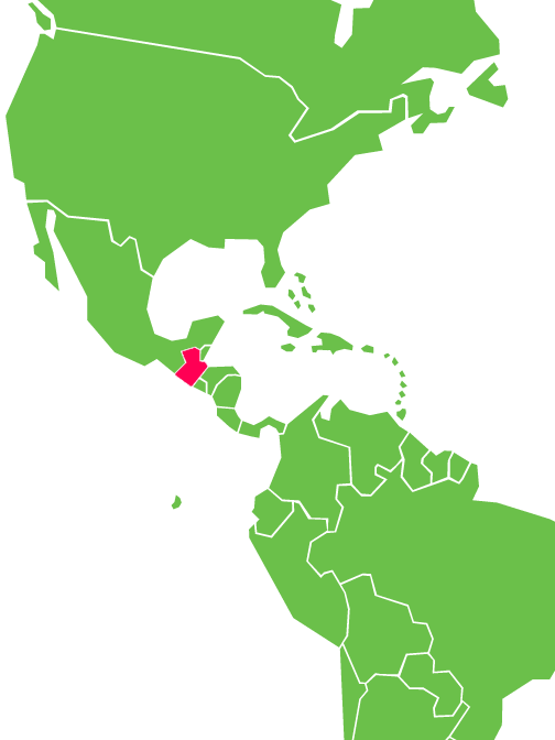 Guatemala is located east of Mexico and West of Belize Honduras and El Salvador.