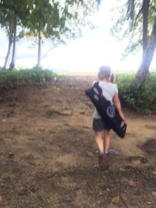 walk to beach 7-20-16