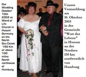 Our Wedding Day / Unsere Hochzeit