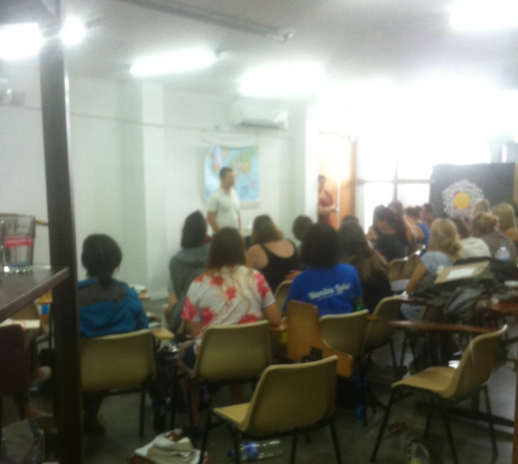 Trip to Australia, teaching in 2 different DTS schools, training students to be sent out as missionaries
