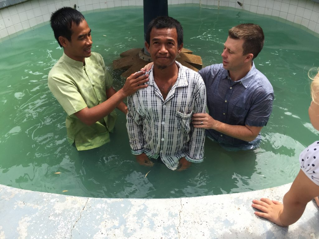 Church member that Garth had the privilege to baptize. His life has been radically transformed through the power of God's word.