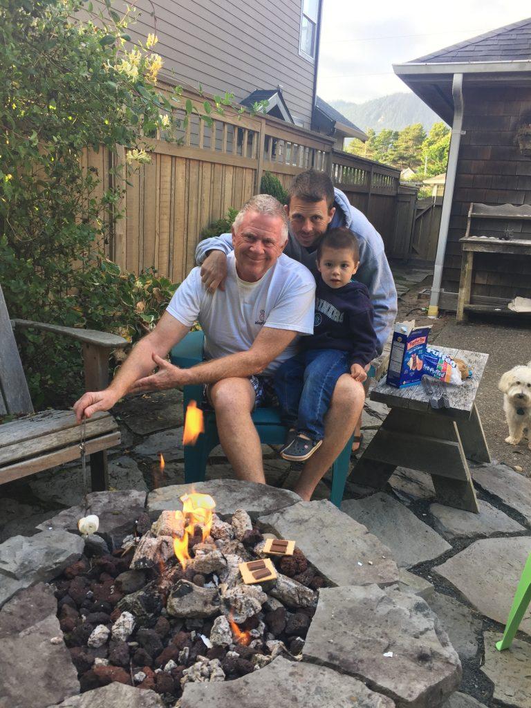 3 generations of Gustafson men!
